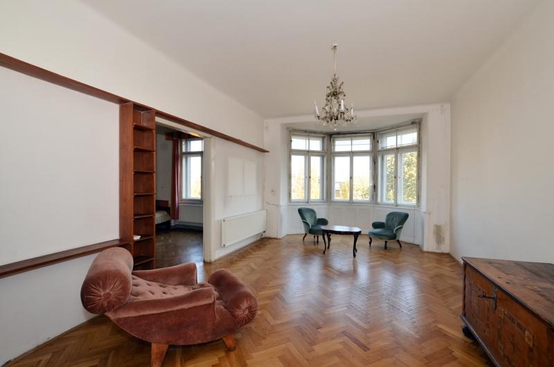Prodej bytu 4+1/B,122 m2, Praha 6 – Bubeneč - 0